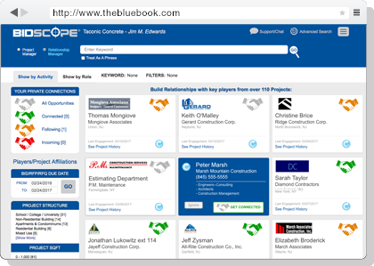 The Blue Book Building & Construction Network - Products