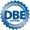 Logo for DBE (Disadvantaged Business Enterprise)