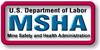 Logo for MSHA (Mine Safety & Health Administration)