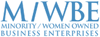 Logo for MWBE (Minority Women Business Enterprise)