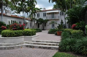 Miller Construction Company Fisher Island Estate Guest Houses