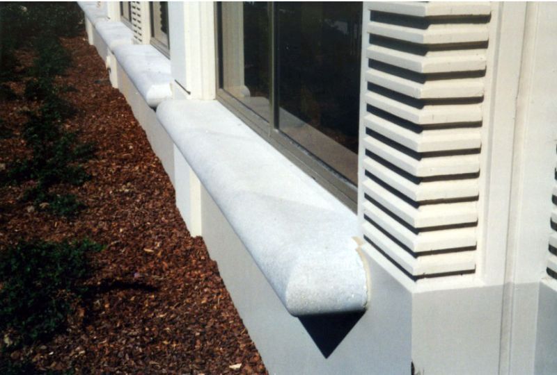 decorating precast window sills inspiring photos
