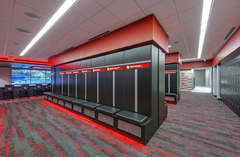 University Of Houston Football Locker Room By University