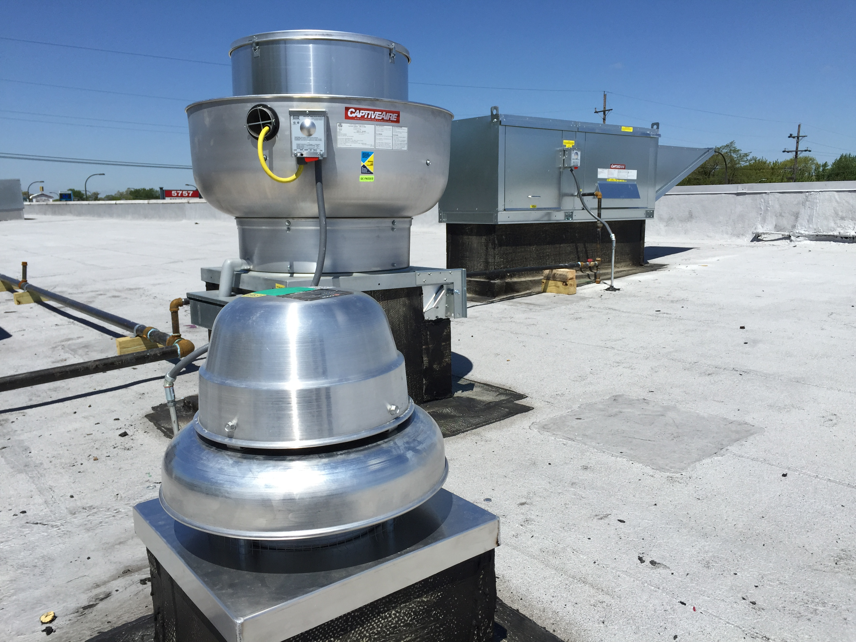 Chicago Home Improvement Service Captive Air Exhaust Fan