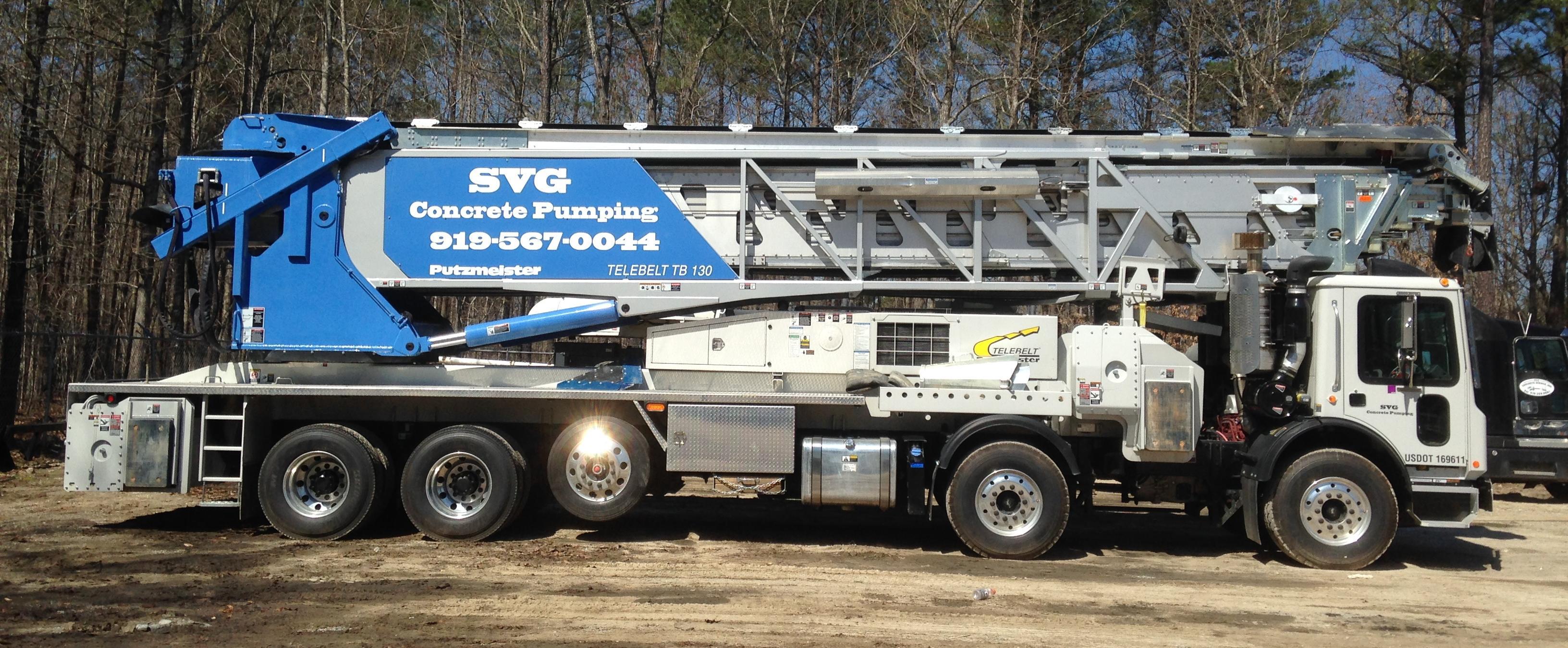 Svg Concrete Services Inc Cary North Carolina Proview