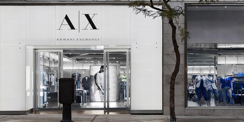 armani exchange shop