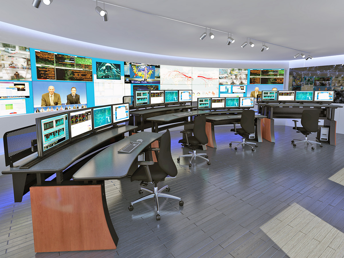 Winsted control room consoles minneapolis minnesota for Control room design jobs