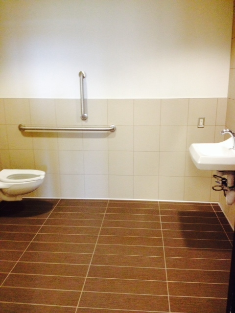 ASU Engineering Center Bathroom  - Arizona Flooring and Interiors, LLC