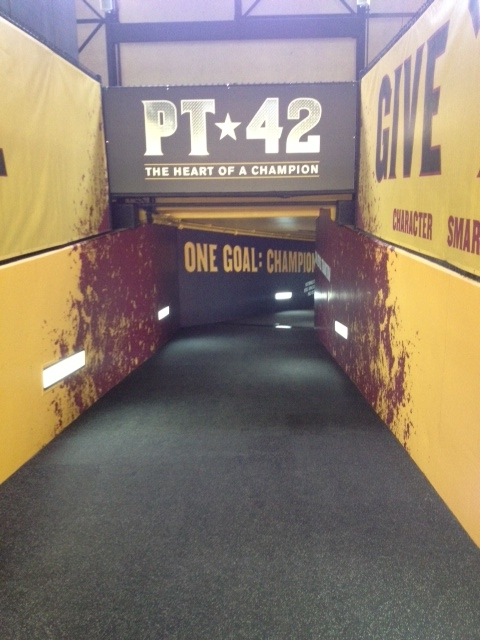 ASU Pat Tillman Tunnel - Arizona Flooring and Interiors, LLC