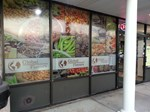design and installing of graphics - SunView Glass Tinting + Signs