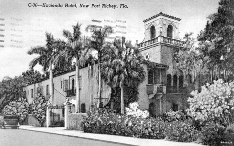 Historic Preservation New Port Richey Fl Olde World Walls Ceilings Hacienda Hotel