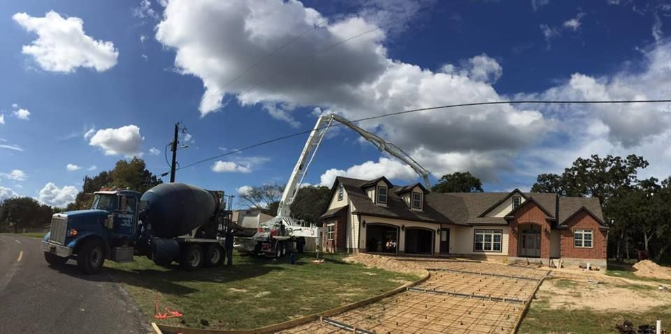 Pumping over a house