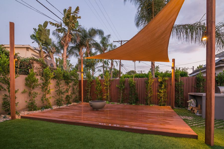 Deck and Sail Shade - Prime Gardens, Inc.