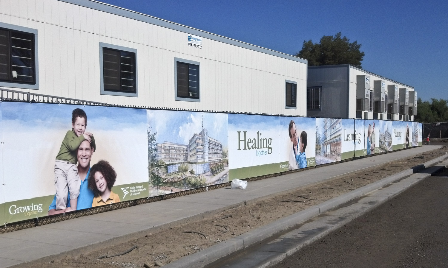Construction Privacy Banners  - JP Digital Imaging