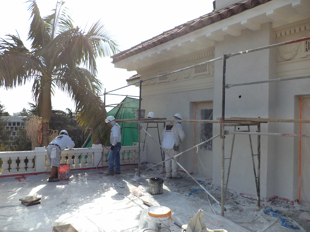 Recent Project - JV Plastering
