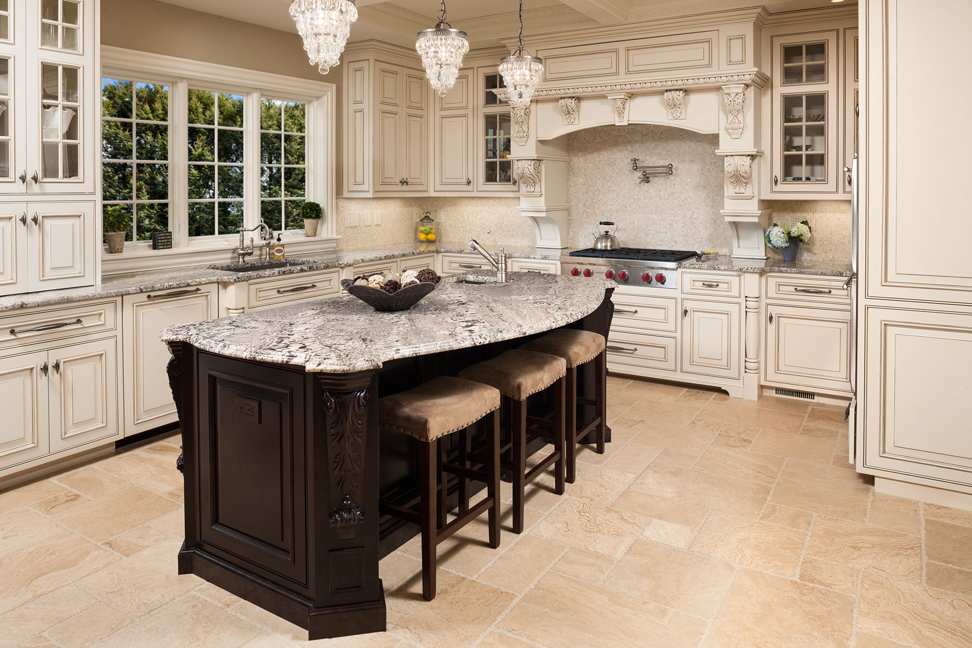 Custom kitchen island design home interior design for Custom kitchens