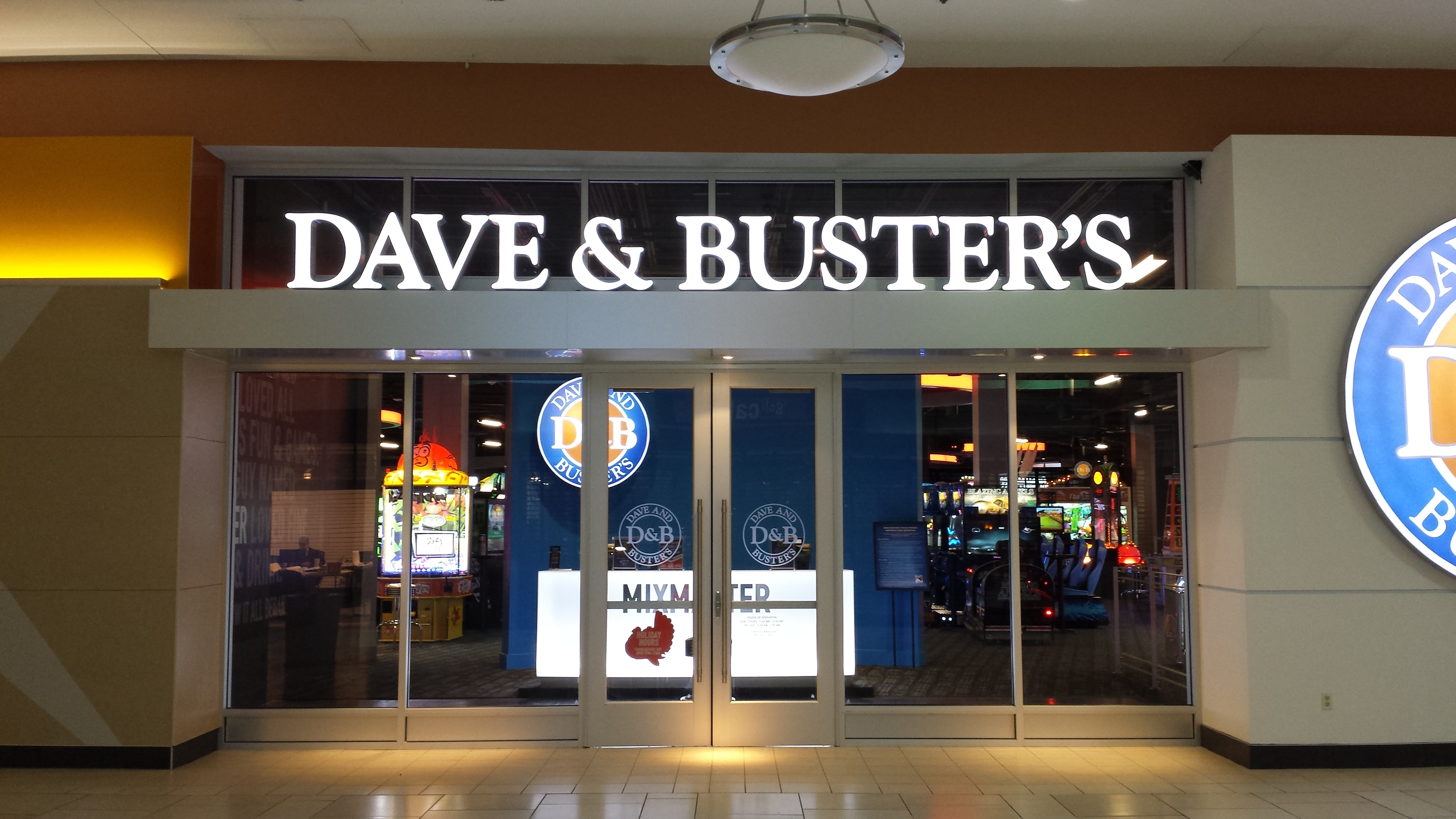 Dave & Busters - American Craftsmen Inc.