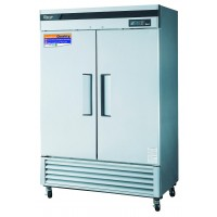 Turbo-Air Reach-In Freezer 2 Solid Swing Doors #TSF-49SD  - National Restaurant Supply
