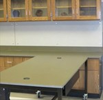 Engagement Series- Counter Tops on Mobile Table & Base Cabinets - PerMar Ltd.