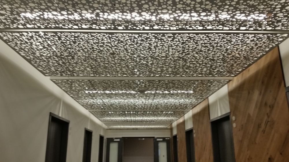 Perforated Ceiling Panels