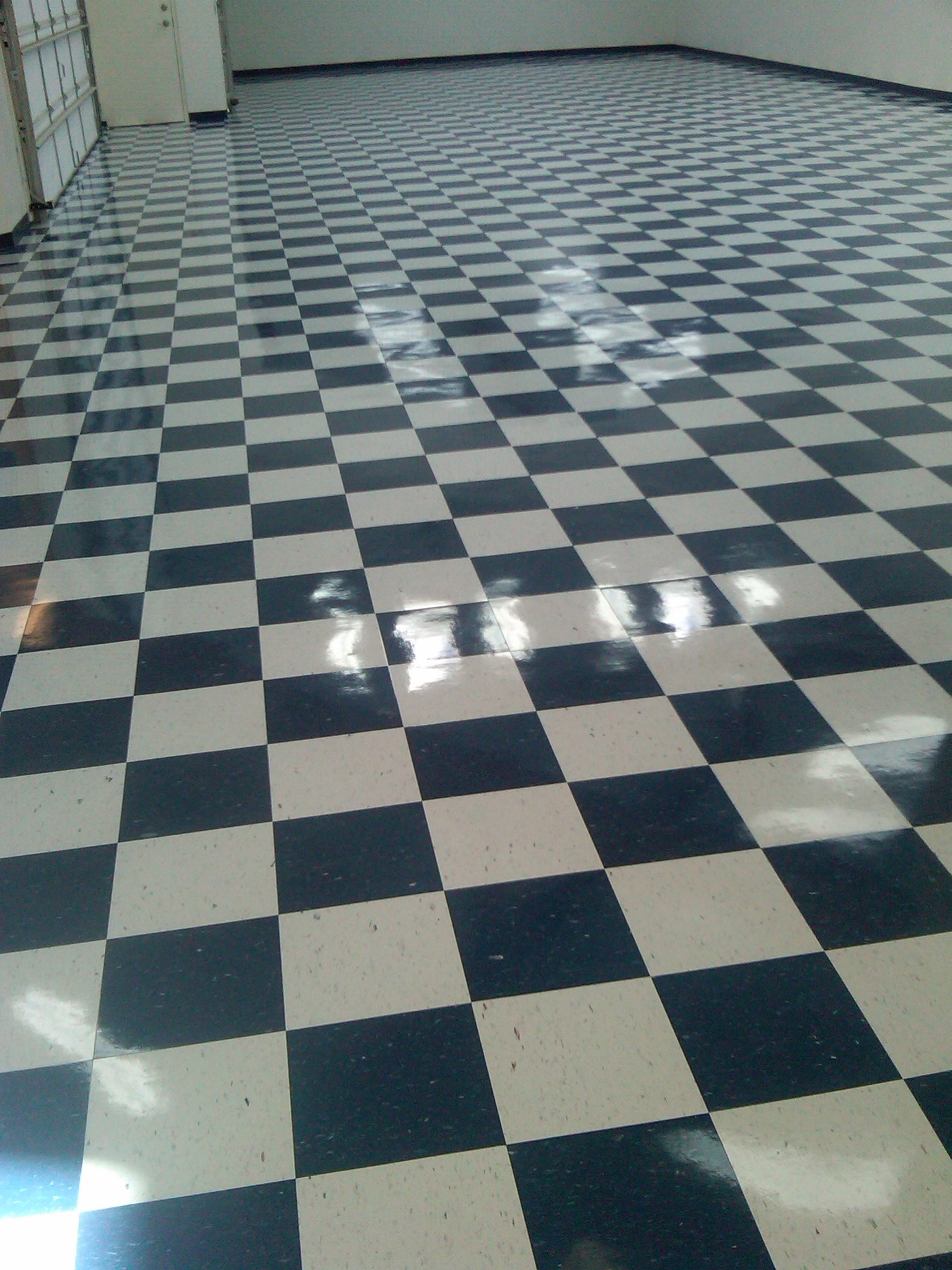 diner floor refinish - Details Done By Kris, Inc.