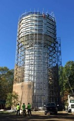 Slocum Water Tank - Associated Scaffold Builders LLC