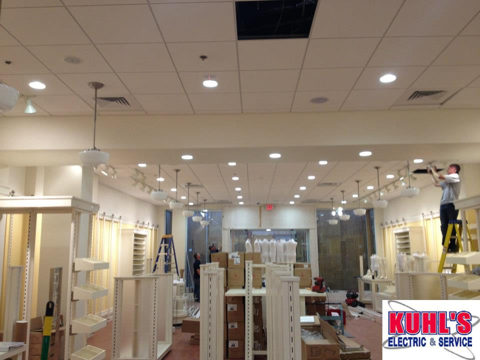 Electrical Projects- Crazy 8  - Kuhl's Electric & Service