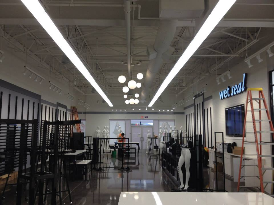 Electrical Projects- Wet Seal - Kuhl's Electric & Service