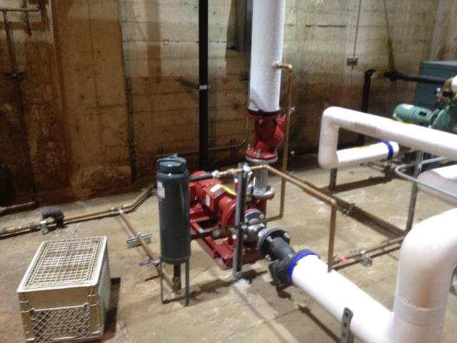 MPC does installation of Boiler Pumps and associated piping - M.P.C. Heating & Air Conditioning, Inc.