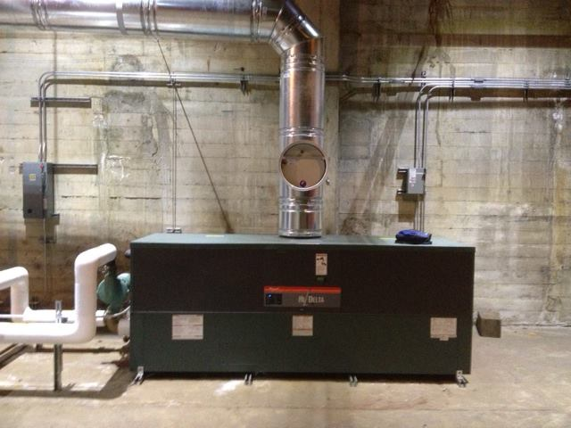 New Boiler Install - M.P.C. Heating & Air Conditioning, Inc.