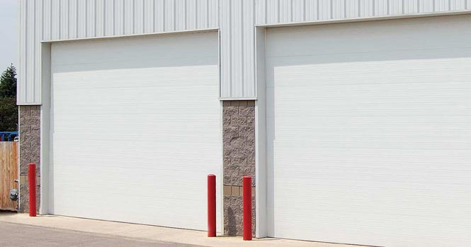 Commercial Doors  - C & D Garage Doors