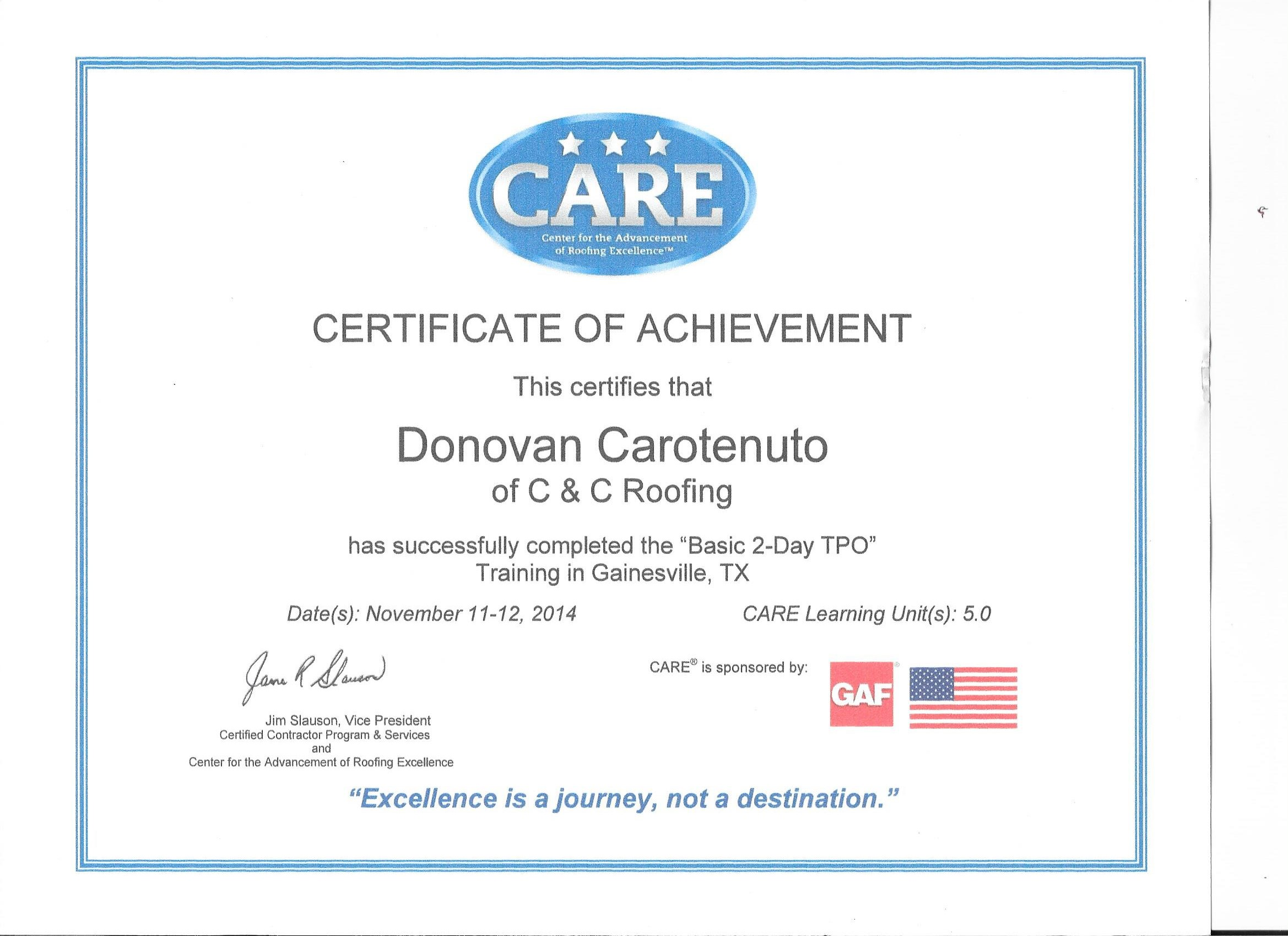 how to become gaf certified