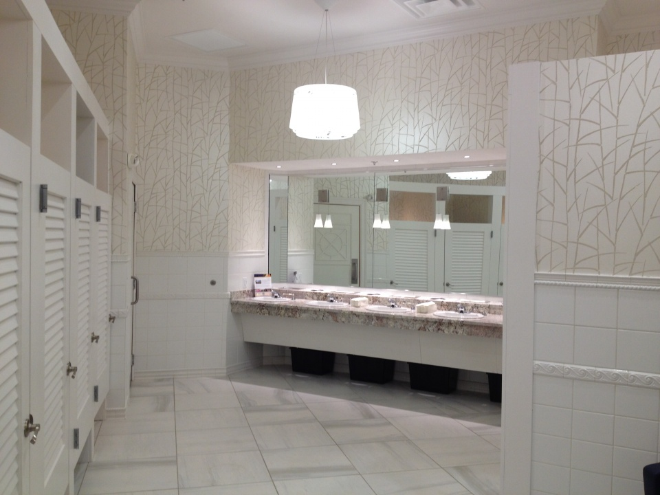 Water's Edge Event Center - Ladies Room (AFTER)