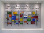 university-of-st-francis-donor-wall - Sheri Law Art Glass