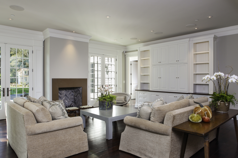 Residential- Living Room - R.J. Riggs & Associates Building Co.
