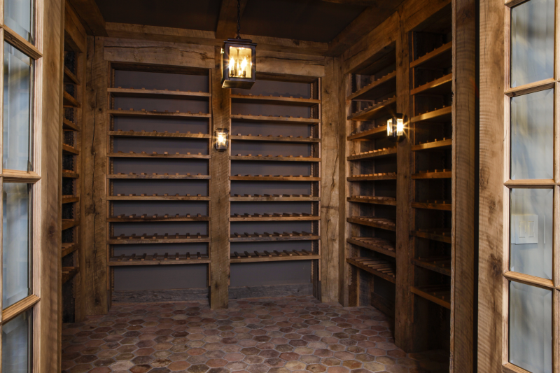 Wine Cellar - R.J. Riggs & Associates Building Co.