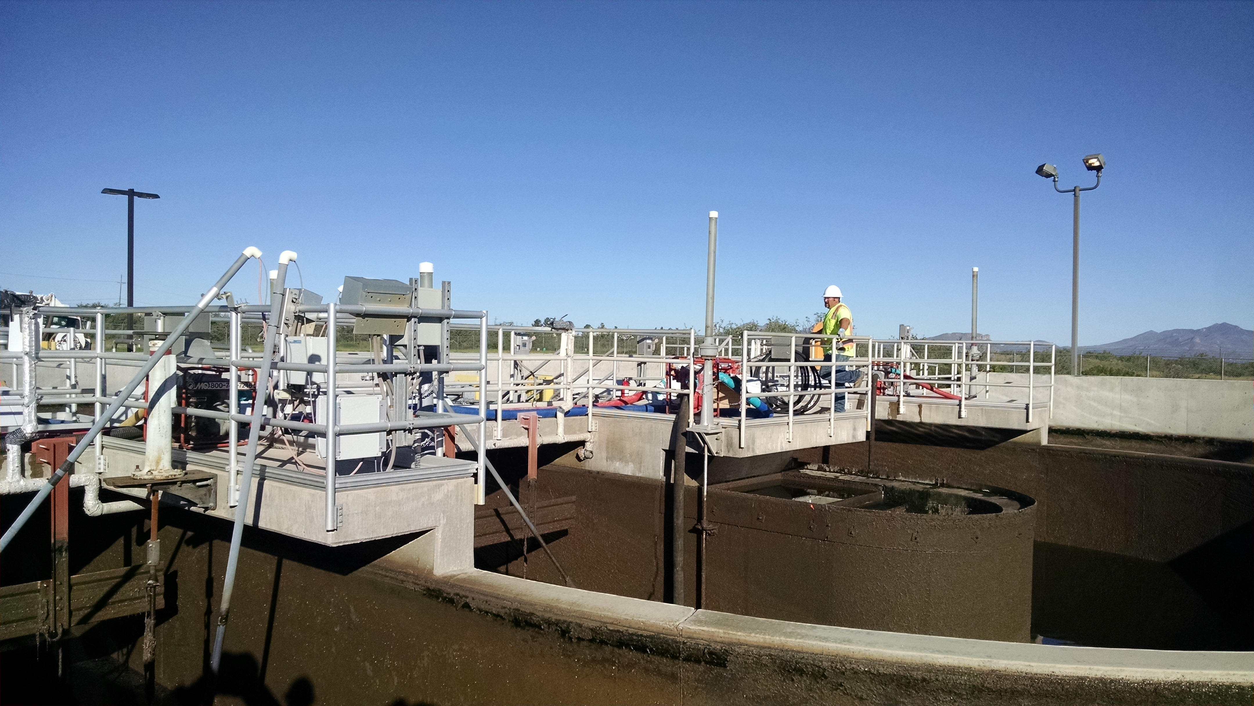 Waste Water Treatment Plant Oxidation Ditch Ft Huachuca - Munsey Contract & Development
