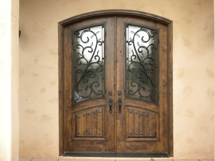Custom Front Doors - Isaac's Ironworks, Inc.