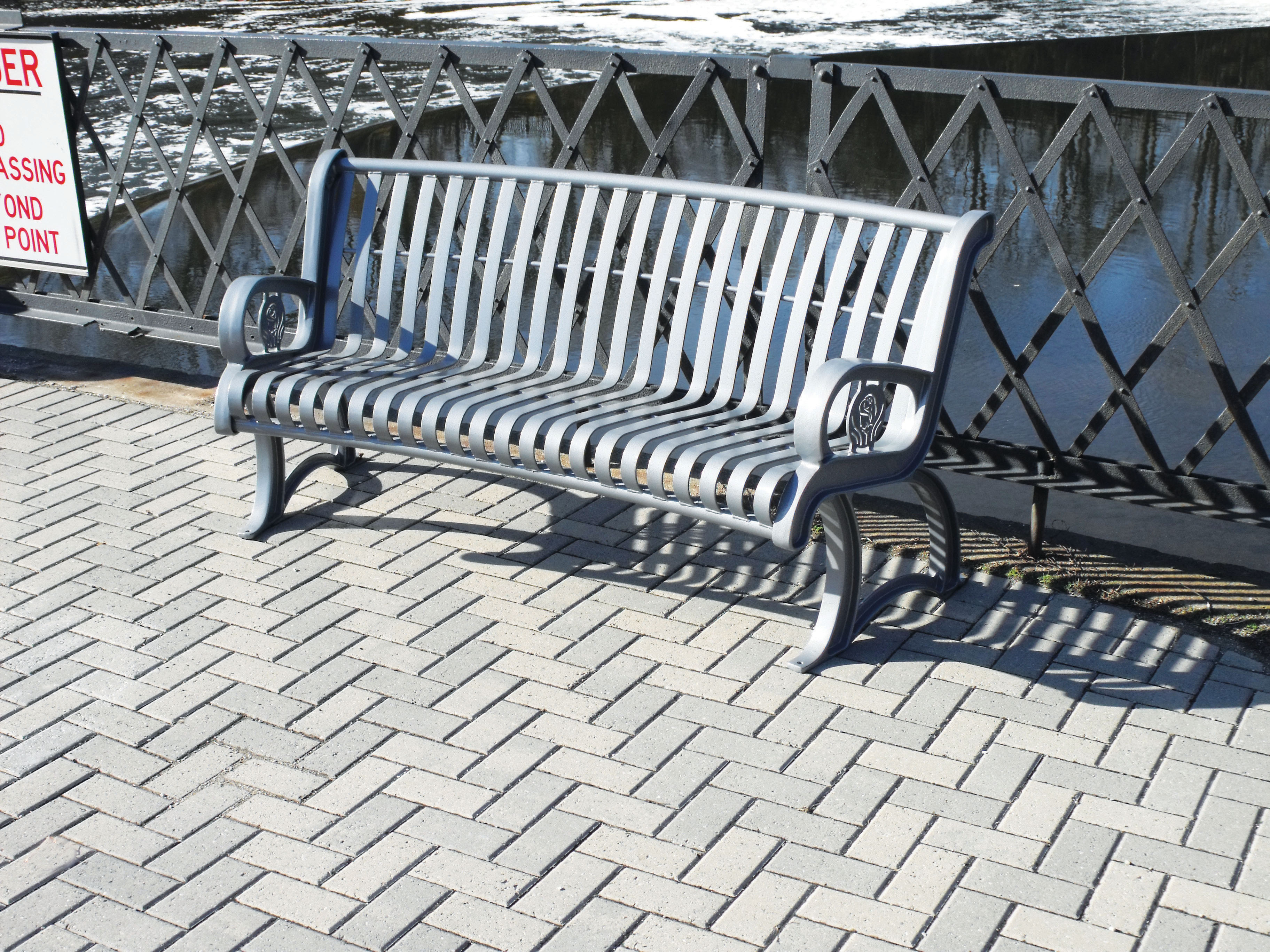 Curved Designer Benches - Play It Safe Playgrounds & Park Equipment