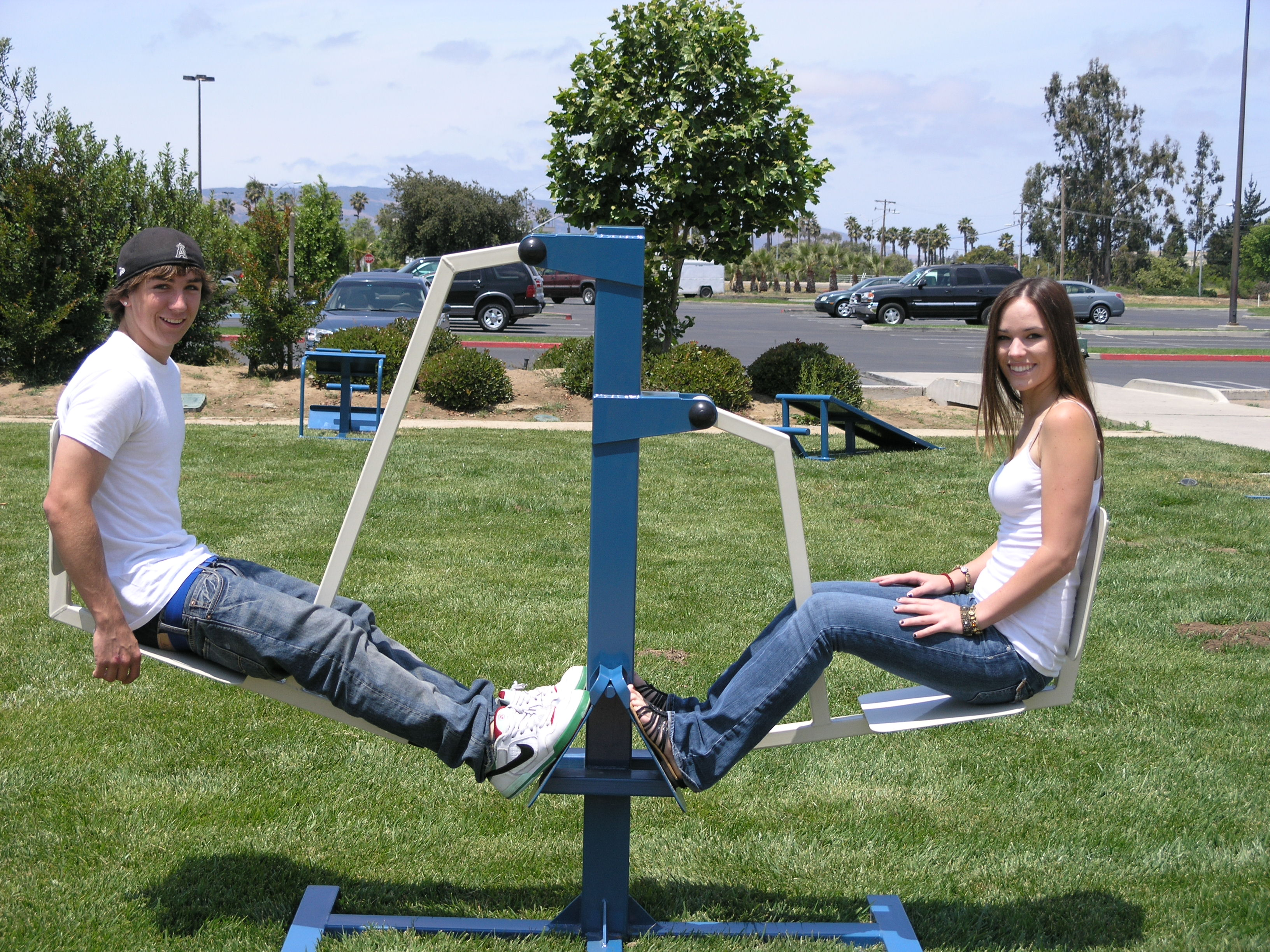 Fitness is Fun - Play It Safe Playgrounds & Park Equipment