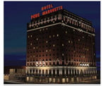 Hotel Pere Marquette, Parking Deck and Marriott Courtyard  - CORE Construction Indiana LLC