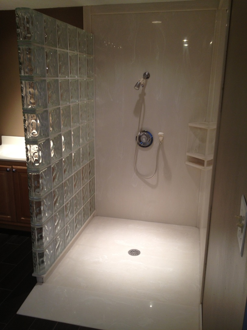 Rainbow cultured marble video image gallery proview - Onyx shower reviews ...