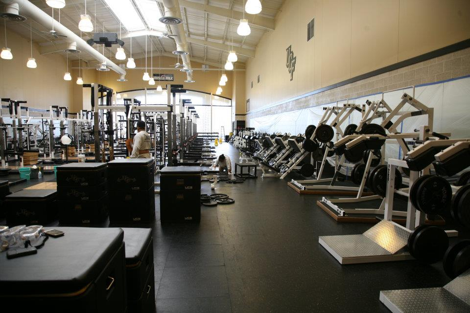 Titan Bioguard University Of Central Florida Weight Rooms Locker Rooms Image Proview