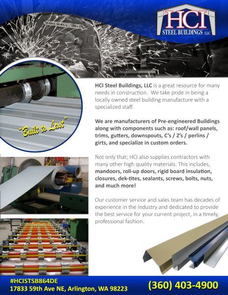 HCI Steel Buildings LLC - Pre-Eng Buildings Images   ProView