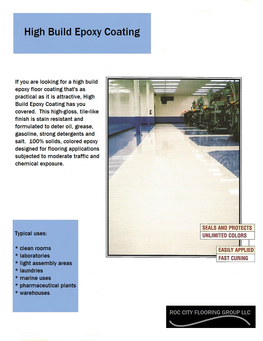 High Build Epoxy Coating