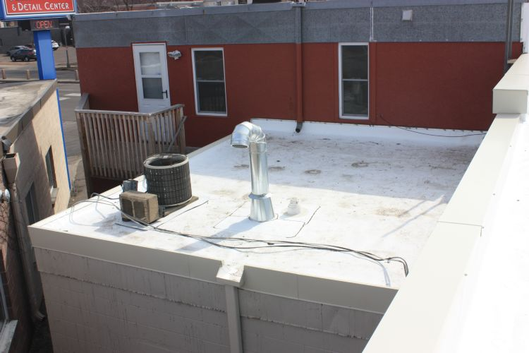 Office Building Replacement Roof Tpo By Bridgewater