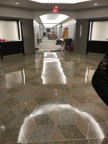 Reconstruction Of Terrazzo Floor At Lobby Celgene Corp By