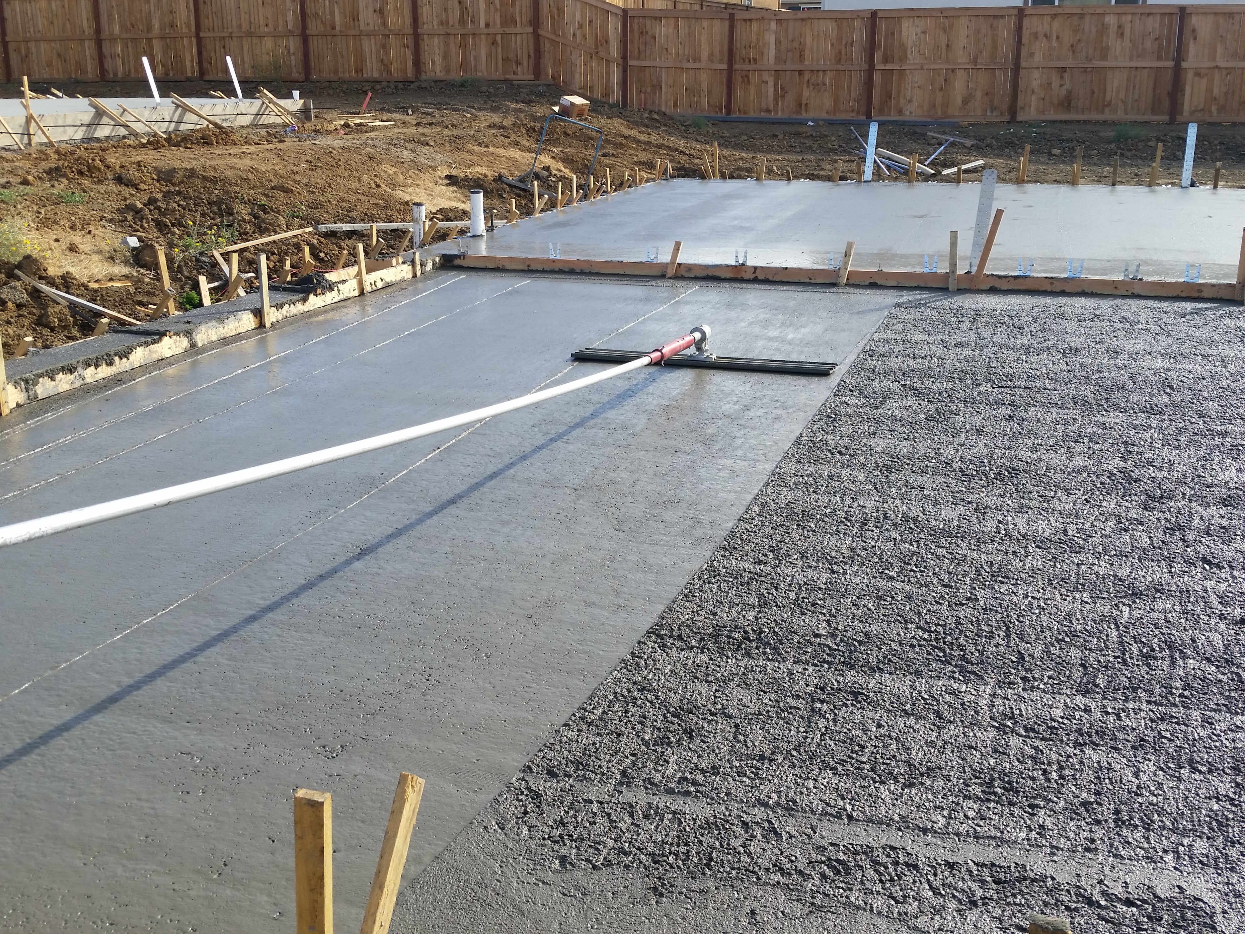Merit Concrete floating some 4