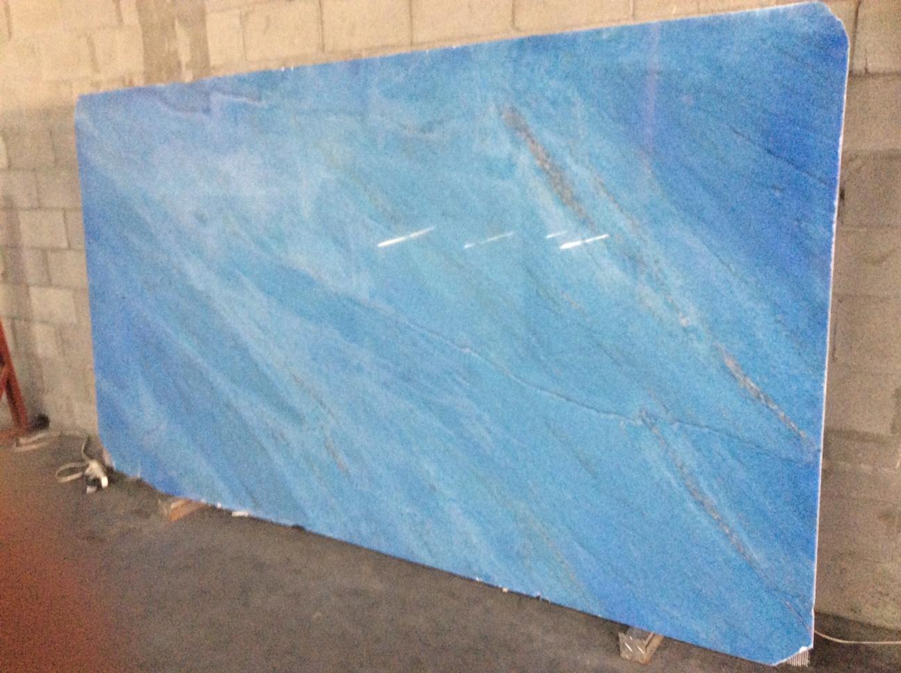 Crystaline Stone Ocean Blue Marble Image Proview