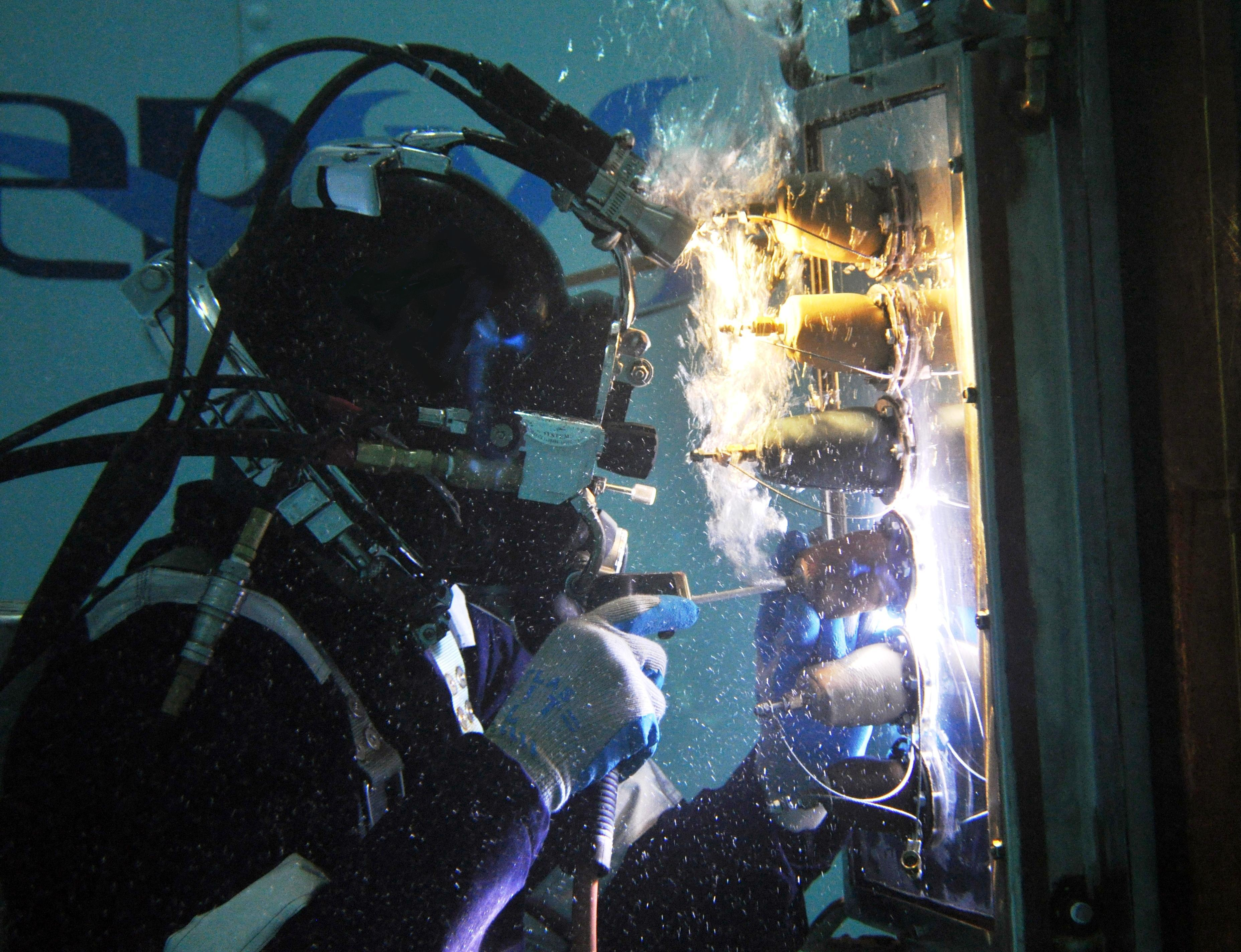 Welding Process In Water Service Provider 100